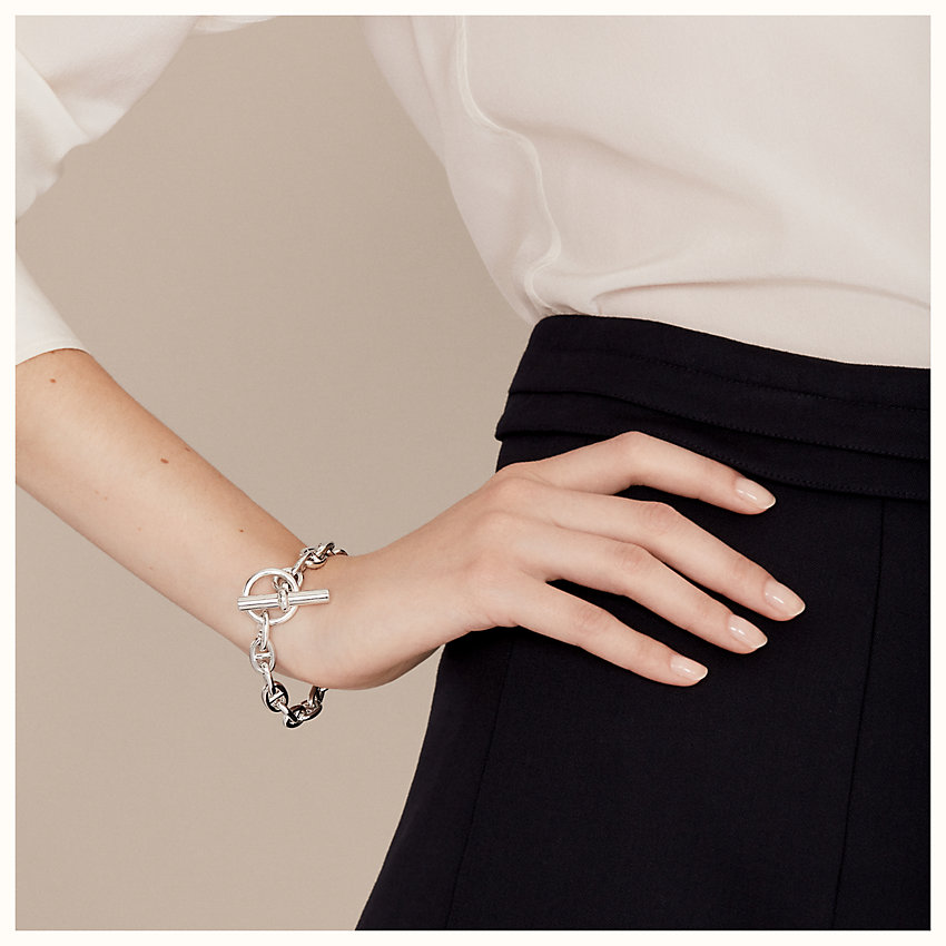 zoom image, Chaine d'Ancre bracelet, small model