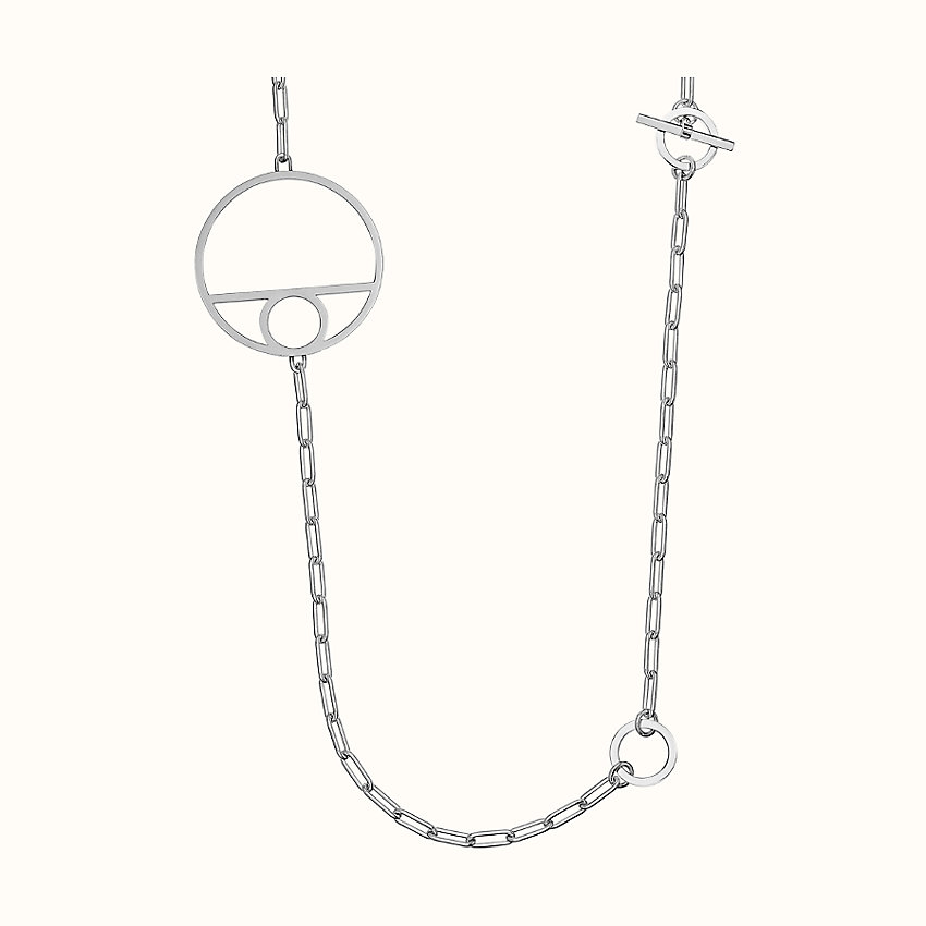 zoom image, Chaine d'Ancre Game long necklace