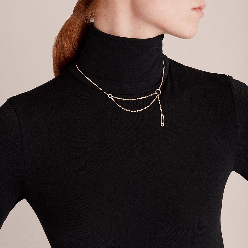 Punk Iridescent Choker Necklace
