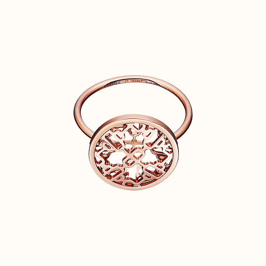 zoom image, Chaine d'Ancre Passerelle ring, small model