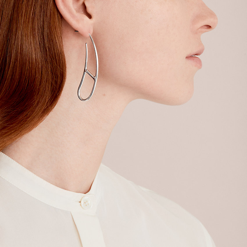 zoom image, Chaine d'Ancre Twist earrings