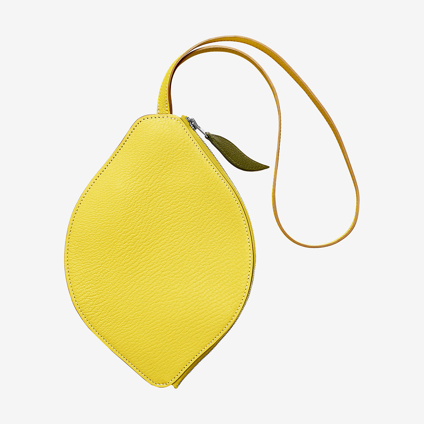 Citron clutch, small model - front
