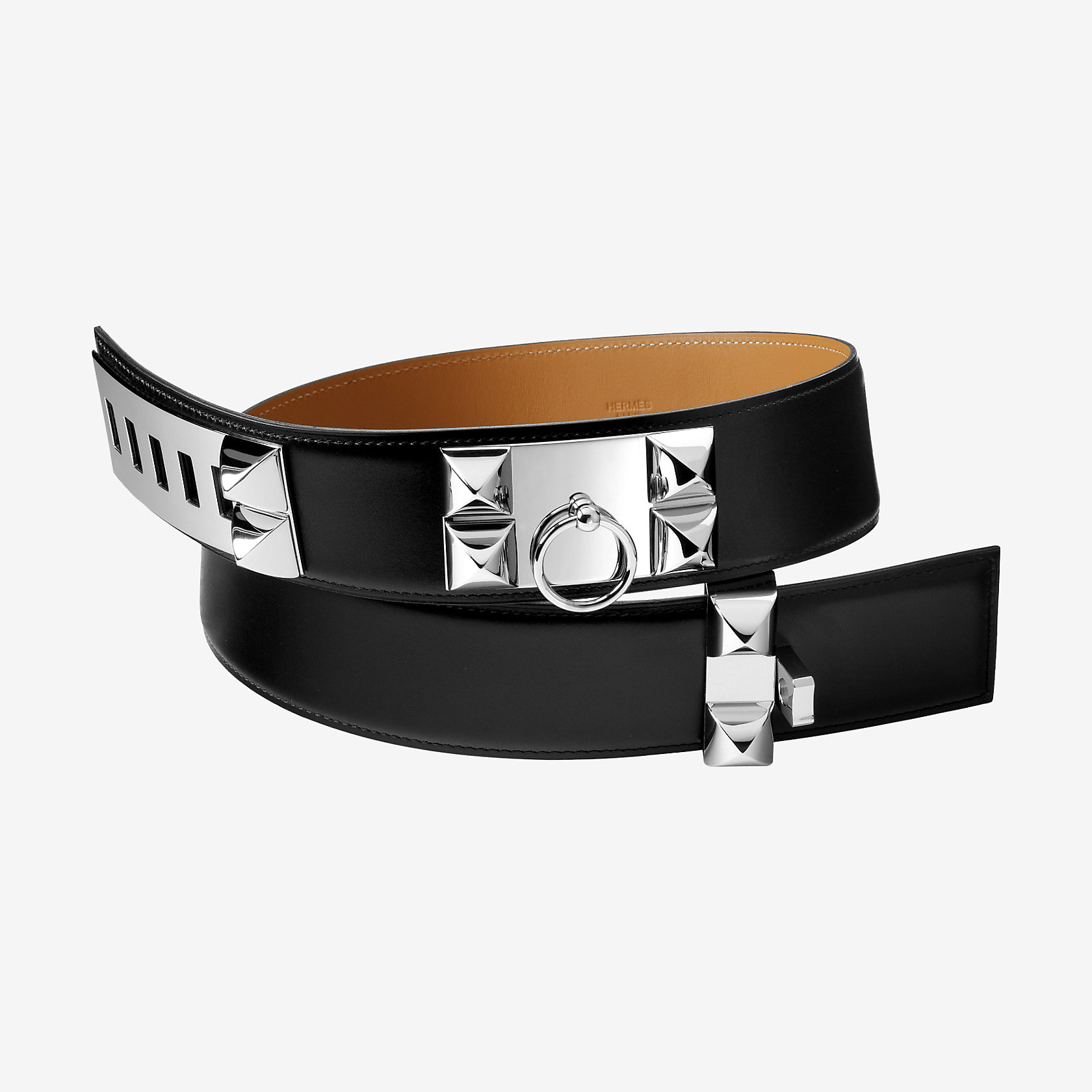 collier de chien belt herm s. Black Bedroom Furniture Sets. Home Design Ideas