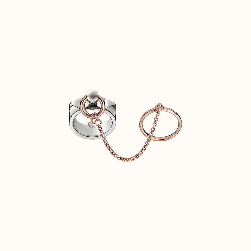 zoom image, Collier de Chien double ring, medium model