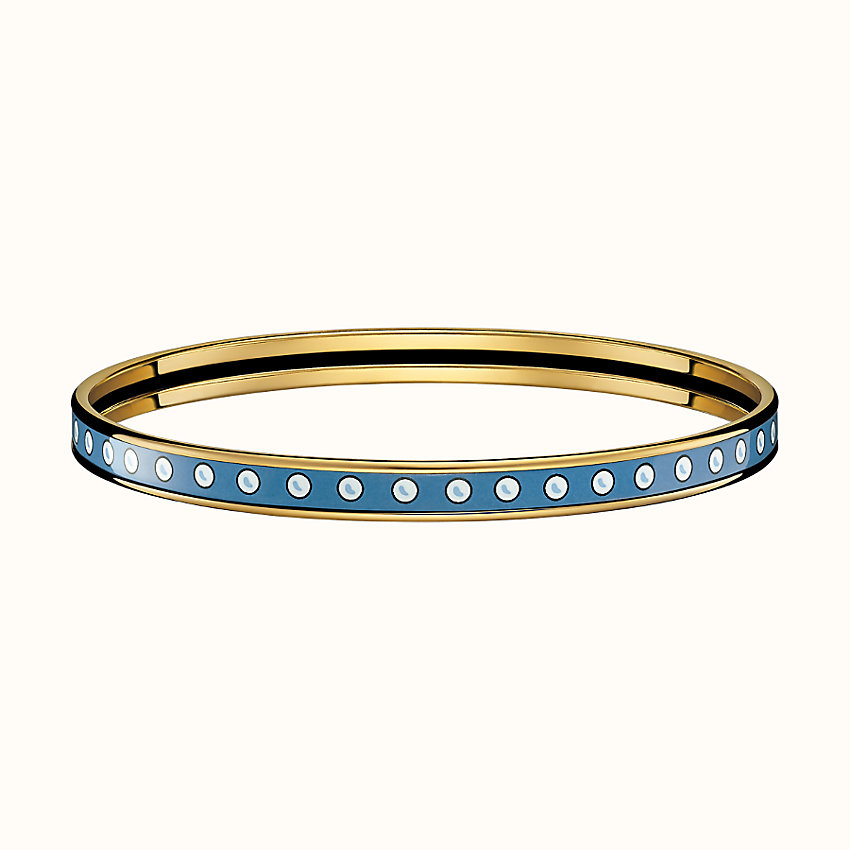 zoom image, Colliers de Chiens Pois bangle