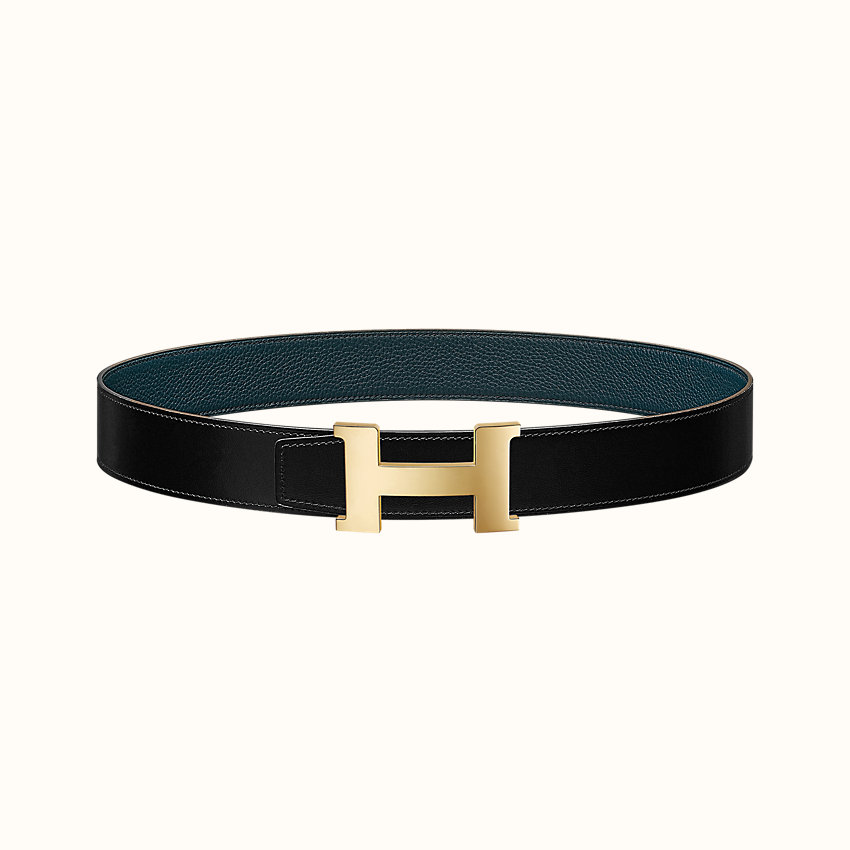 zoom image, Constance belt buckle & Reversible leather strap 38mm