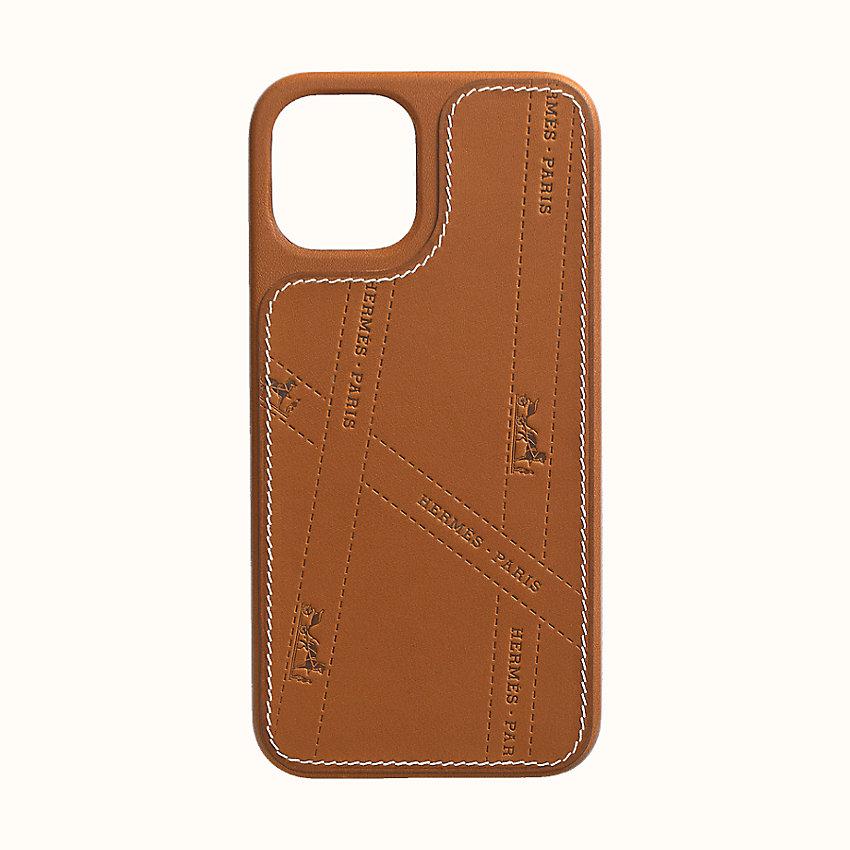 Coque Hermès Bolduc avec MagSafe pour iPhone 12 et iPhone 12 Pro