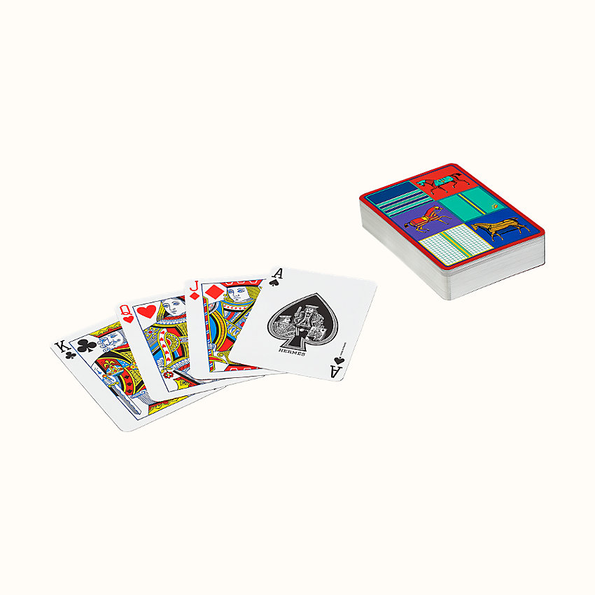 zoom image, Couvertures Nouvelles poker playing cards
