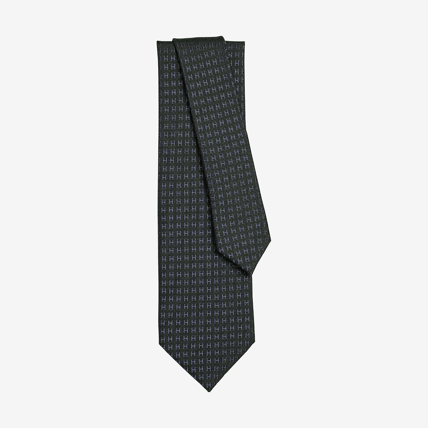 venduto in tutto il mondo vasta selezione materiali di alta qualità Cravatta Façonnée H Bicolore