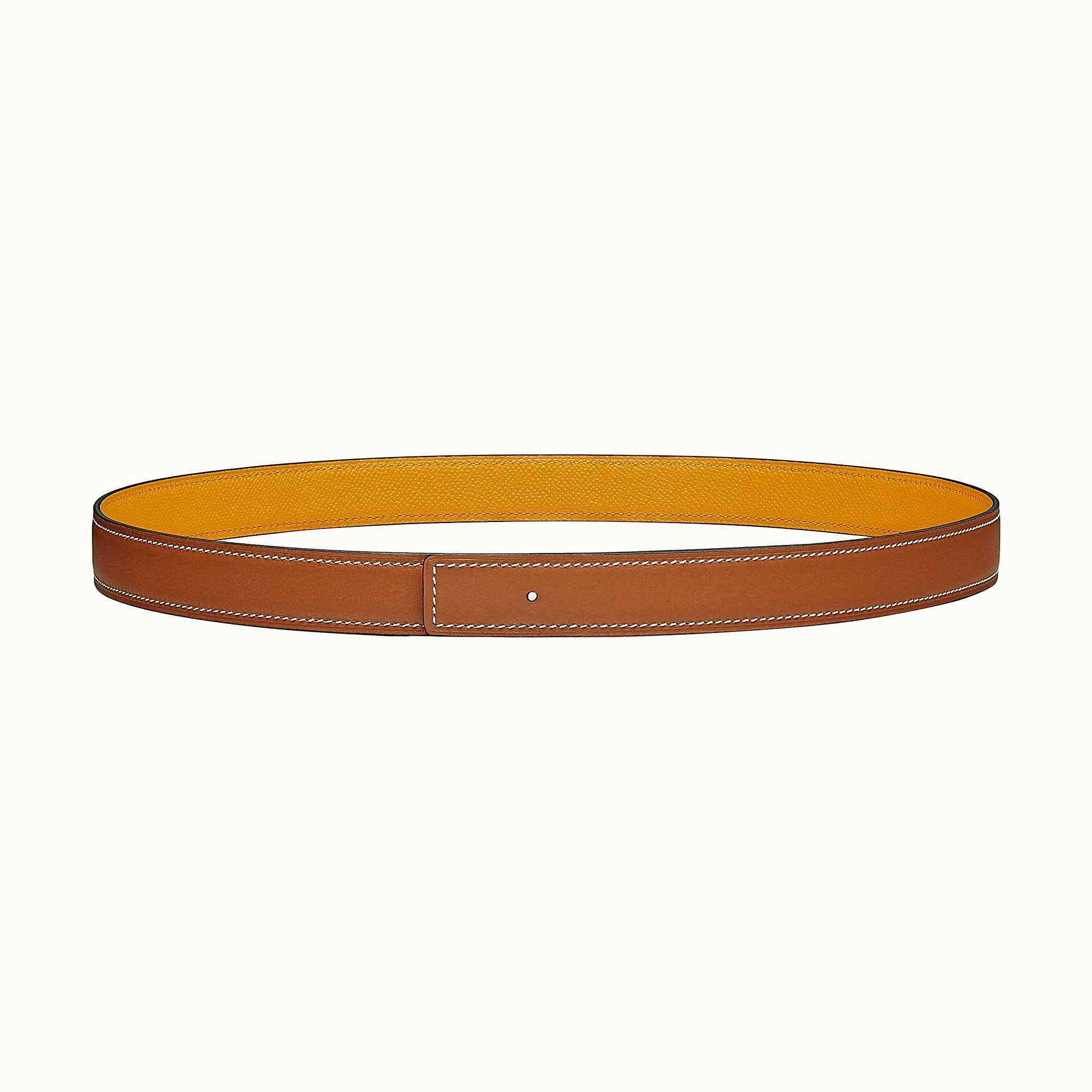 Cuir de ceinture réversible 24 mm   Hermès e6baa989818