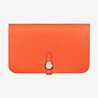 60992b92286 Dogon duo wallet, large model | Hermès