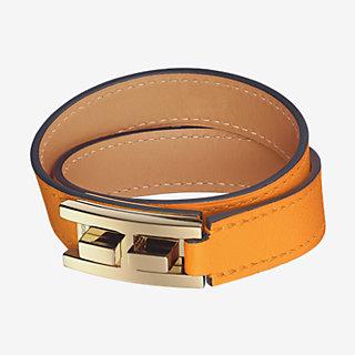 Drag Double Tour Bracelet Front