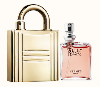 Kelly Calèche Recharge Parfum & Cadenas Or rechargeable