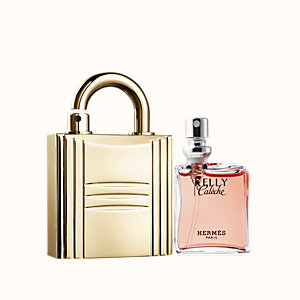 Kelly Caleche Parfum refill & Padlock Refillable gold