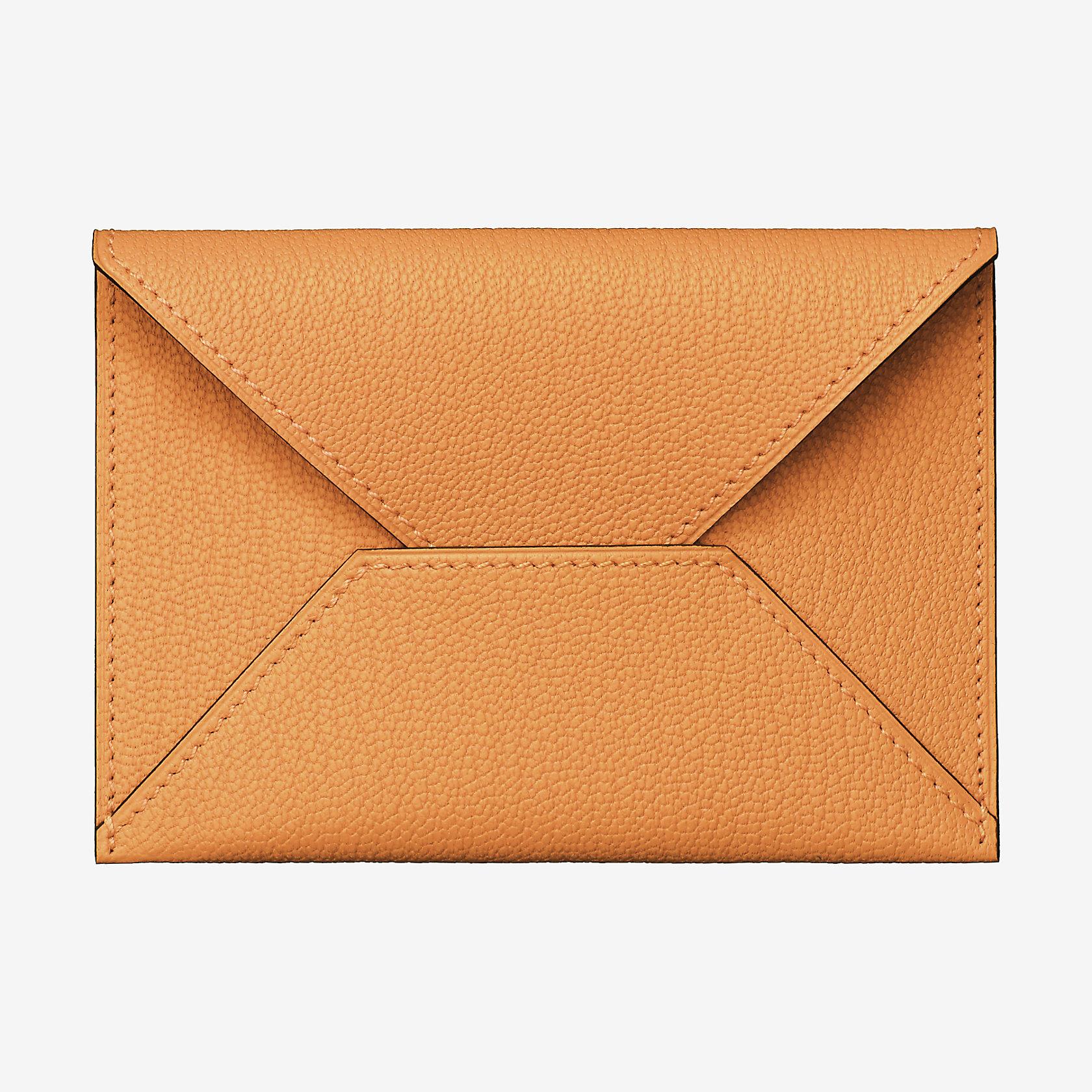 envelope clutch medium model hermès
