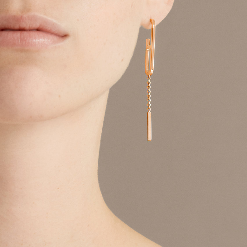 zoom image, Ever Chaine d'Ancre earrings, medium model
