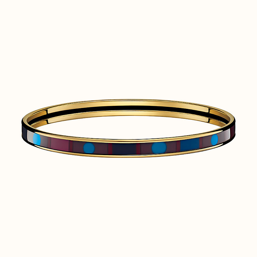 zoom image, Faubourg Rainbow Pois bangle