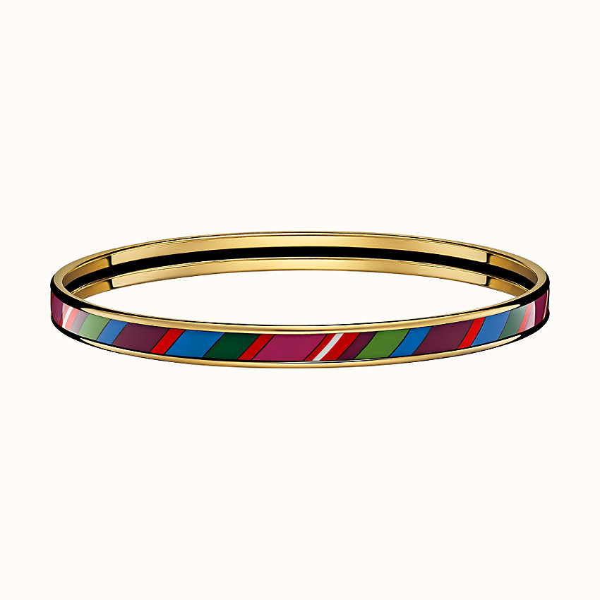 zoom image, Faubourg Rainbow Rayures bangle