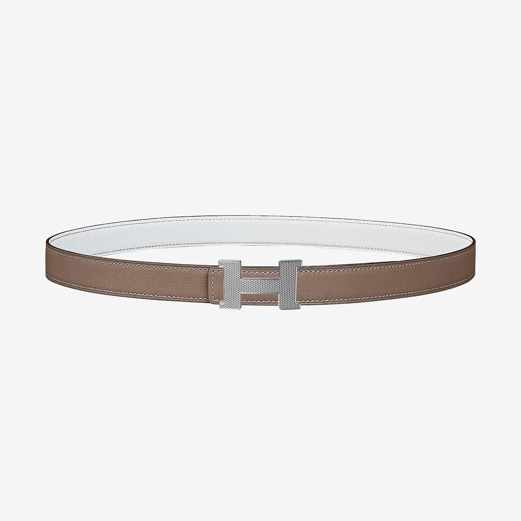 la più grande selezione ottima vestibilità catturare Fibbia per cintura Mini Constance Guillochée & Pelle reversibile per  cintura 24 mm