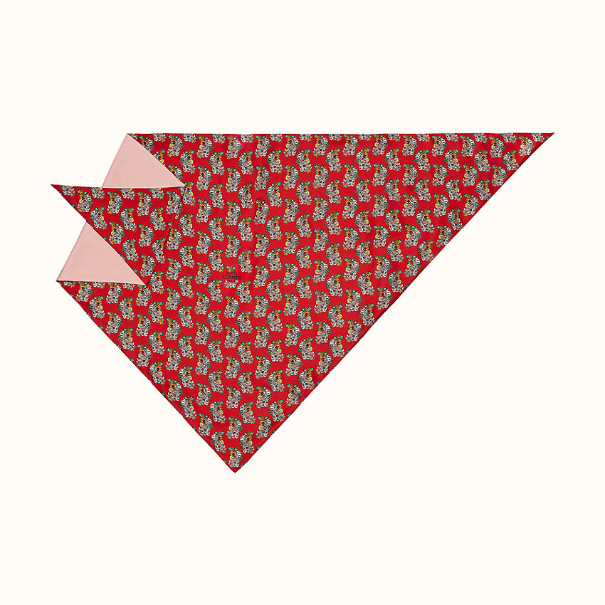 zoom image, Flore triangle scarf