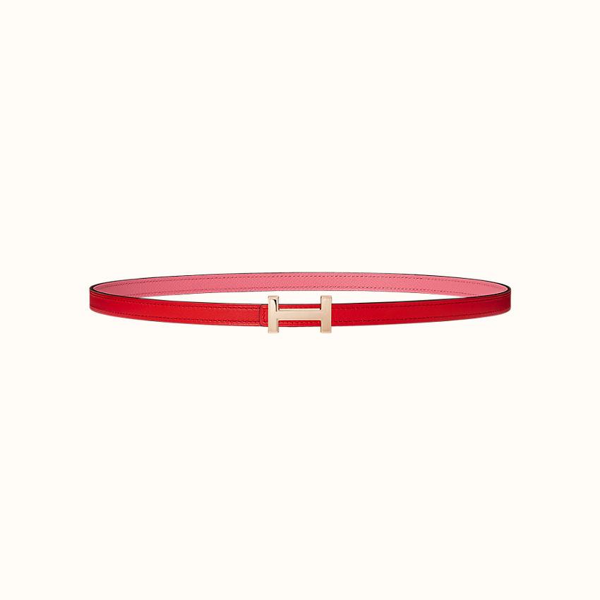 zoom image, Focus belt buckle & Reversible leather strap 13mm