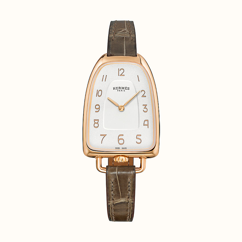 zoom image, Galop d'Hermes watch, 40.8 x 26 mm