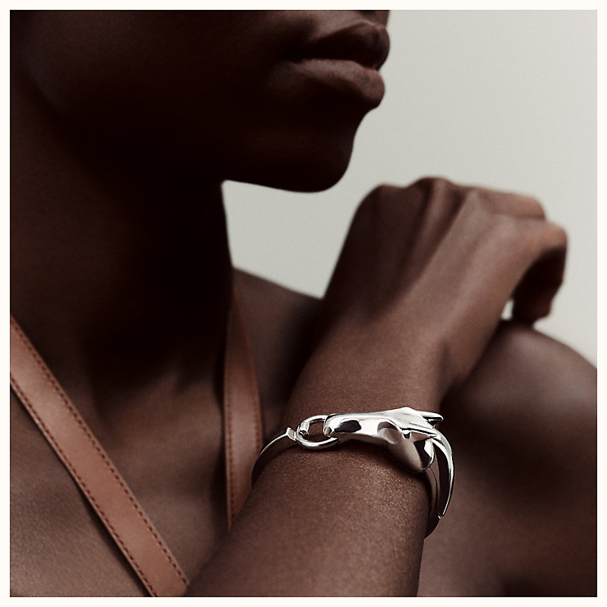zoom image, Galop Hermes bracelet, small model