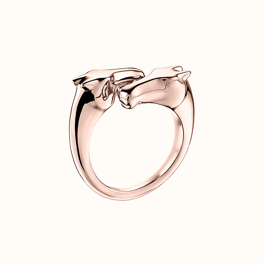 zoom image, Galop Hermes ring, small model