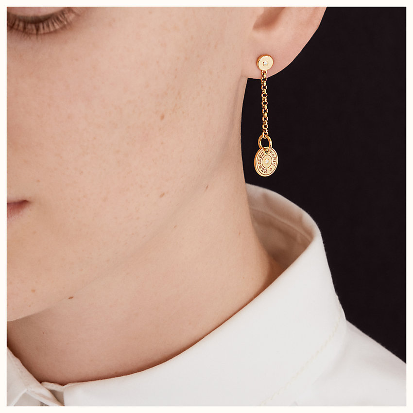 zoom image, Gambade Clou de Selle earrings