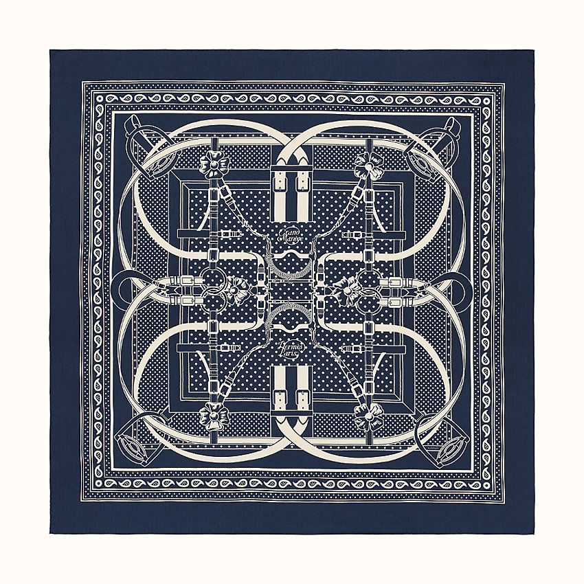 zoom image, Grand Manege Bandana shawl 140