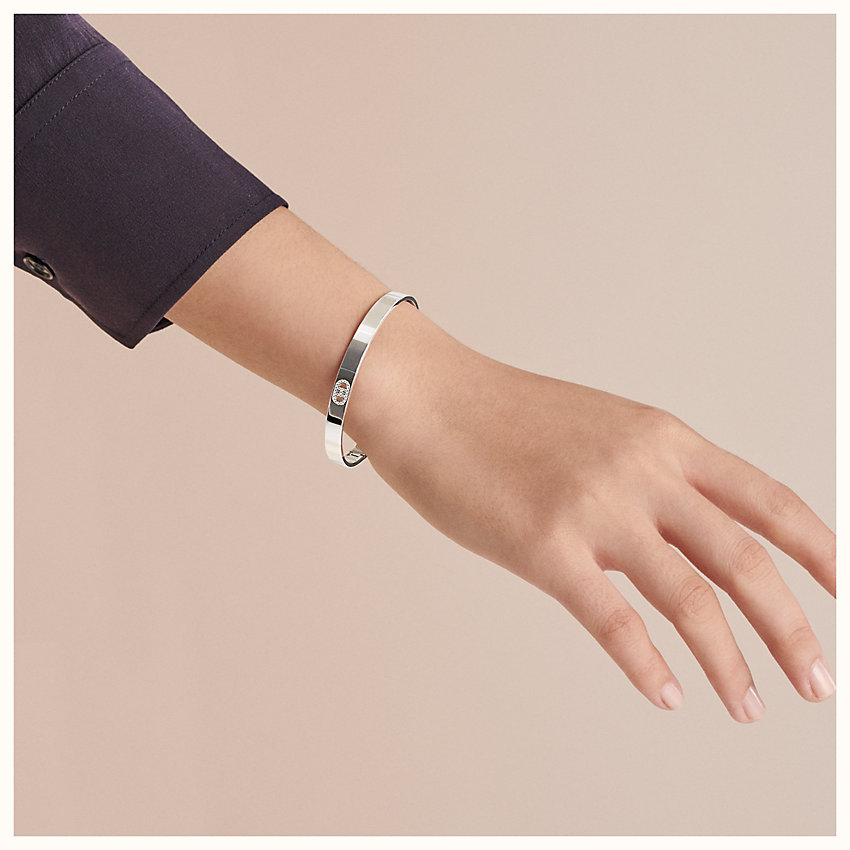 zoom image, H d'Ancre bracelet, small model