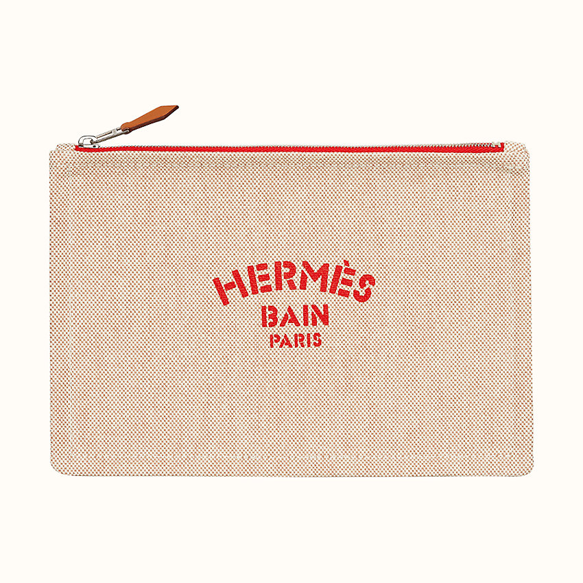 "zoom image, ""Hermès Bain"" New Yachting case, small model"