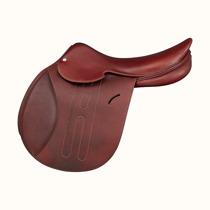 zoom image, Hermes Cavale II jumping saddle