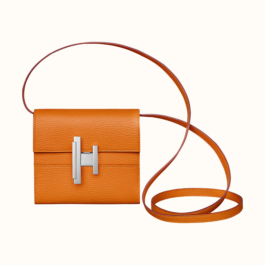 zoom image, Hermes Cinhetic mini wallet