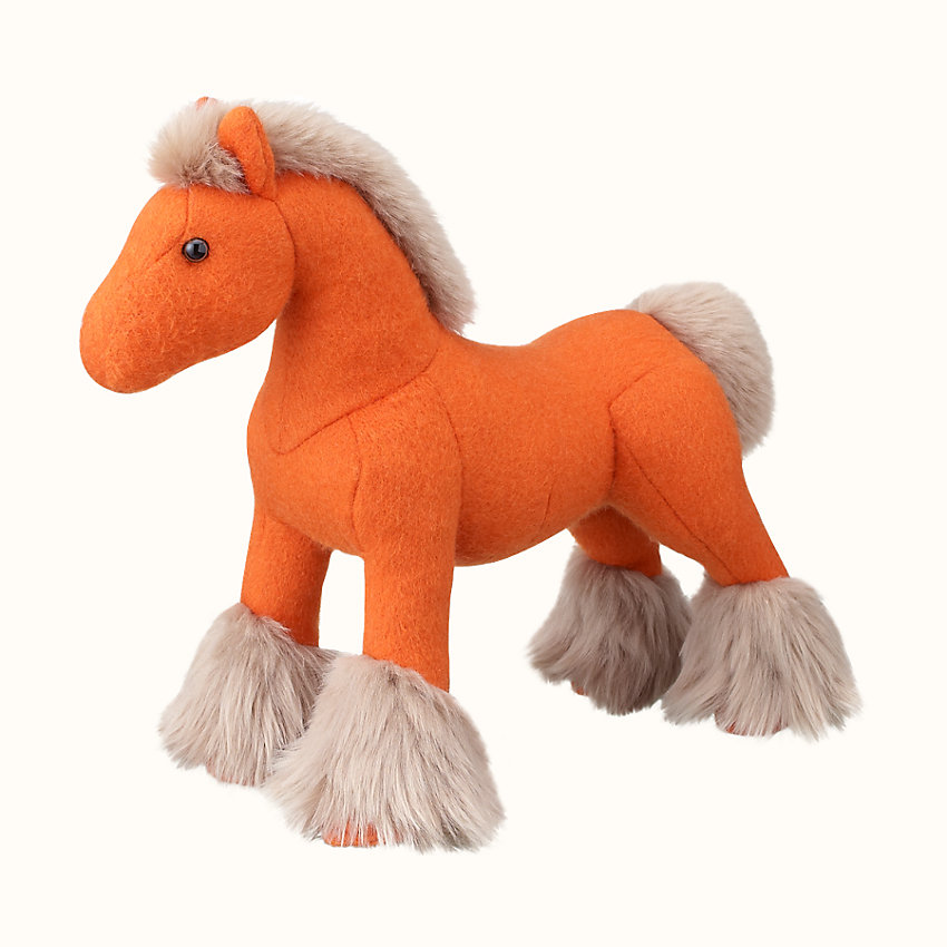 zoom image, Hermy plush horse, small model