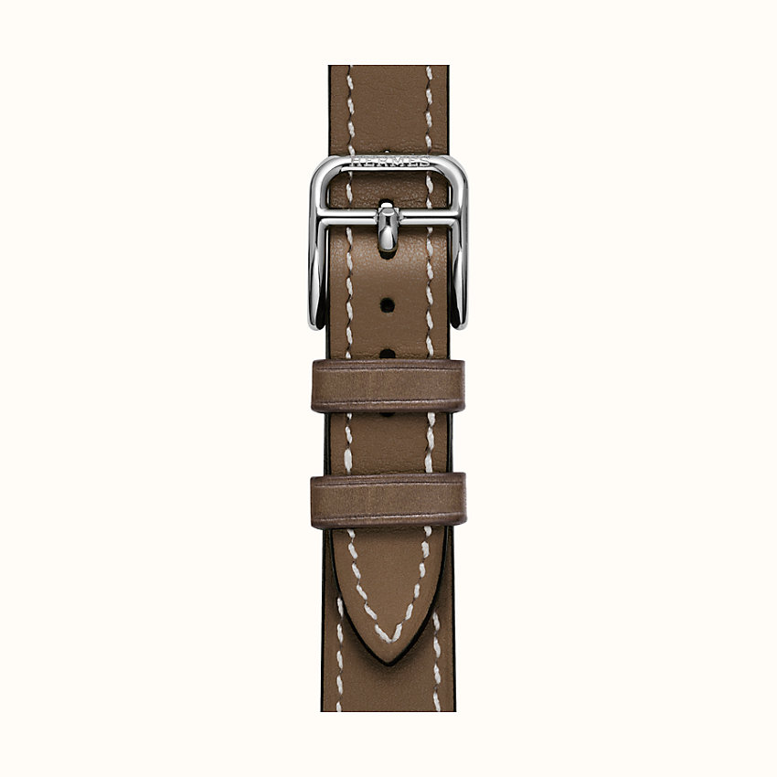 zoom image, Heure H Watch Strap Single Tour, 21 x 21 mm, long