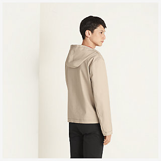 Hooded jacket - worn