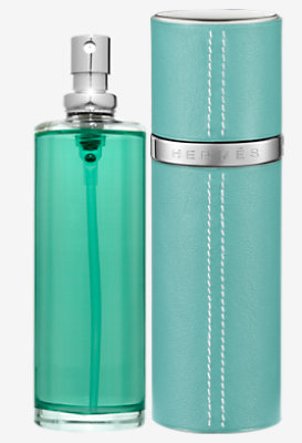 Eau d'orange verte Eau de cologne & Refillable leather case -