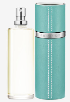 Terre d'Hermes Eau de toilette refill & Refillable Leather case -