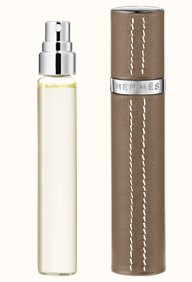 Eau des Merveilles Set of 3 Eau de toilette refills & Refillable leather case