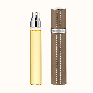 Caleche Set of 3 Eau de toilette refills & Refillable leather case