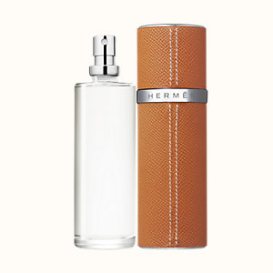 Un Jardin sur le Toit Eau de toilette refill & Refillable leather case