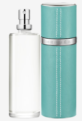 Un Jardin sur le Toit Eau de toilette refill & Refillable leather case -