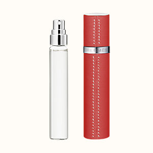 Un Jardin sur le Toit Set of 3 Eau de toilette refills & Refillable leather case