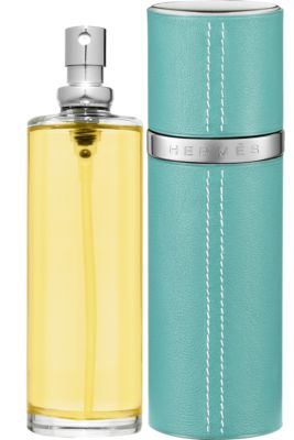 Terre d'Hermes Parfum refill & Refillable leather case