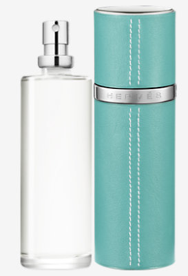 Voyage d'Hermes Parfum refill & Refillable leather case -