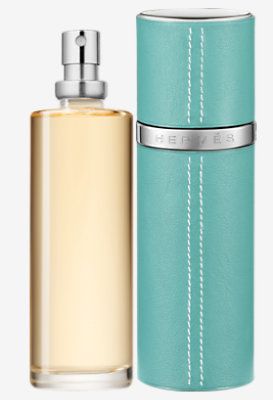 Jour d'Hermes Eau de Parfum refill & Refillable leather case -