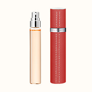 L'Ambre des Merveilles Set of 3 Eau de parfum refills & Refillable leather case