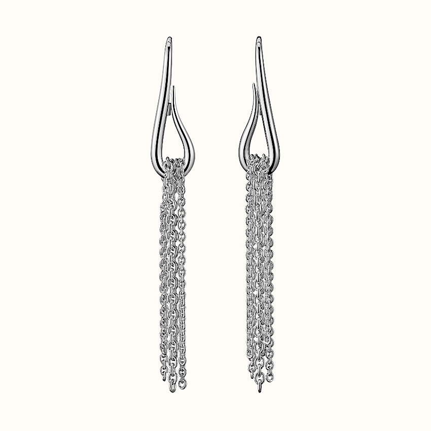 zoom image, Licol Hermes earrings