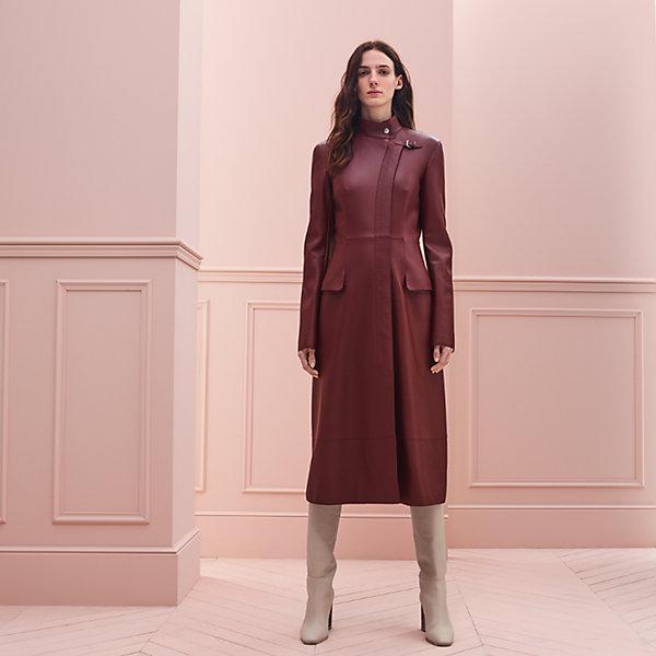 Manteau long évasé cape gothique baroque princesse hiver brodé corset PunkRave